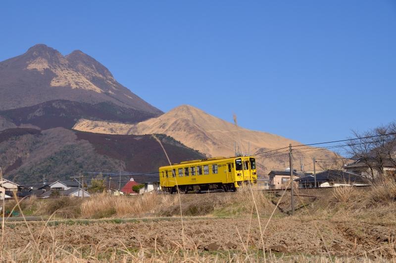 由布岳と列車 (9)