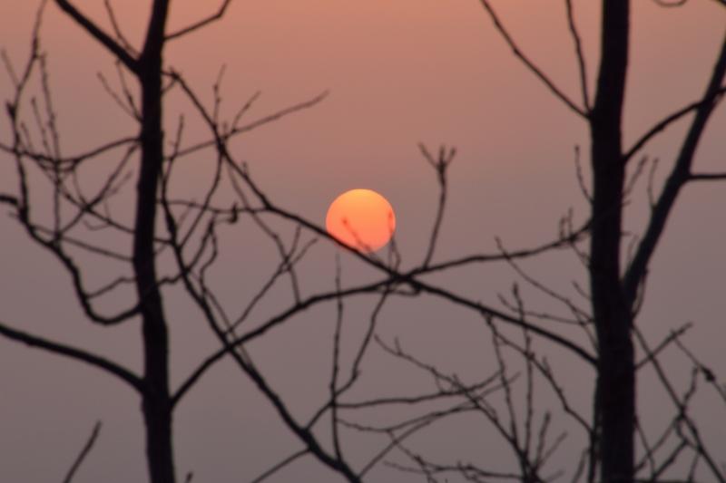 月出山の夜明け (5)