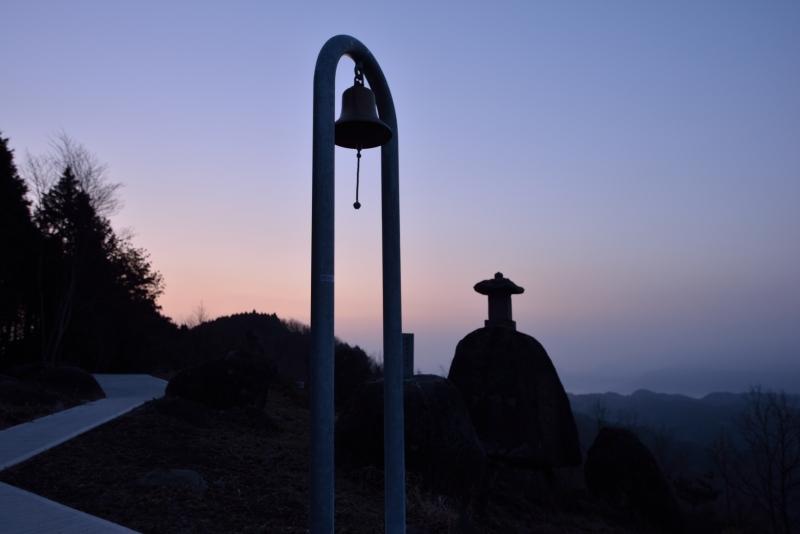 月出山の夜明け (2)