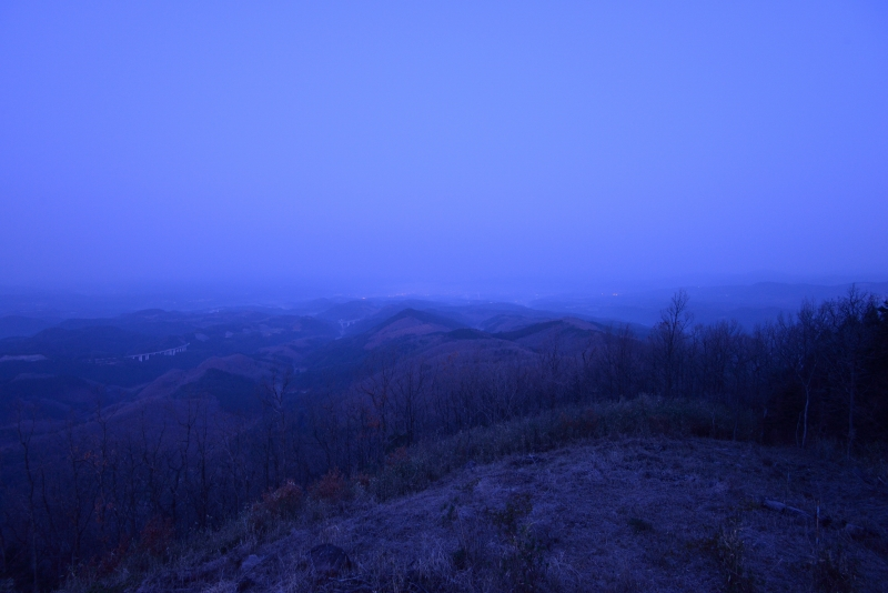月出山の夜明け (1)