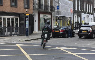 ロンドン自転車便