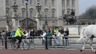自転車警官