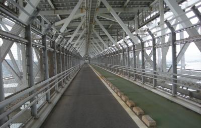 因島大橋の2階建て構造