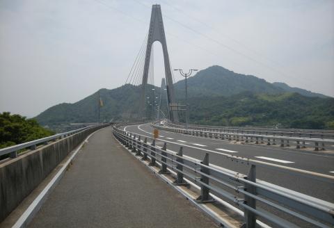 生口橋で生口島へ渡る