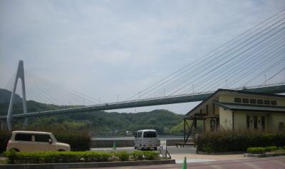 生口橋と喫茶店