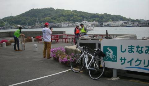 尾道の渡船桟橋