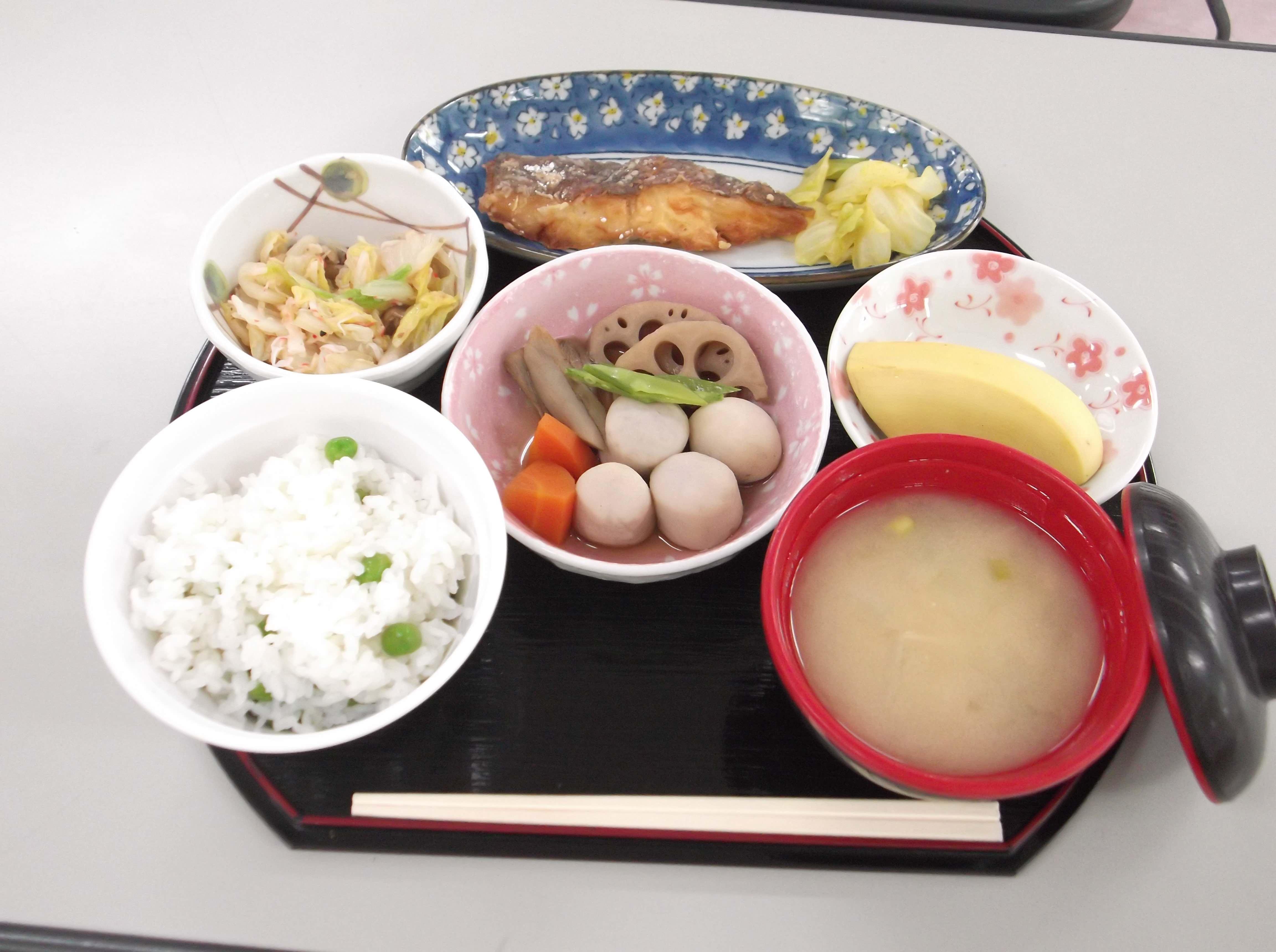 5月23日昼食