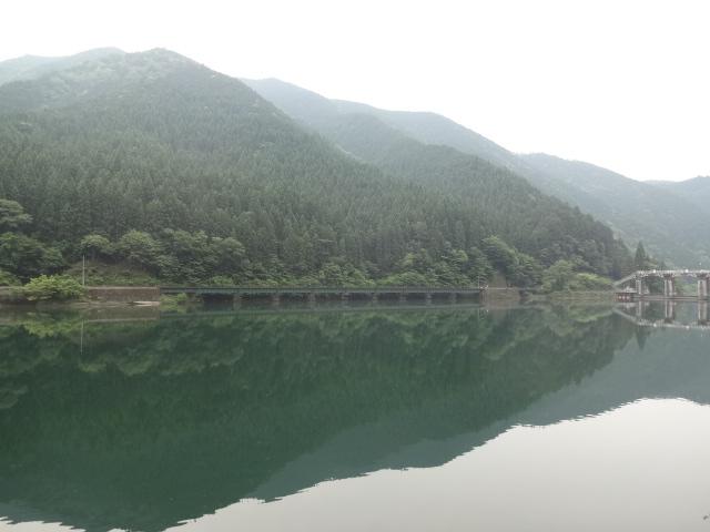 飛騨川ダム湖