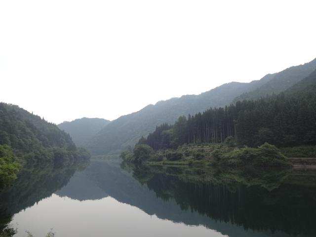 下原ダム湖1