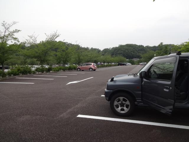 日本昭和村駐車場