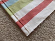 クッションカバー 袋縫い前