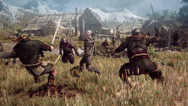 The_Witcher_3_Wild_Hunt_Geralt_fighting_multiple_opponents_in_a_village_in_Skellige.png