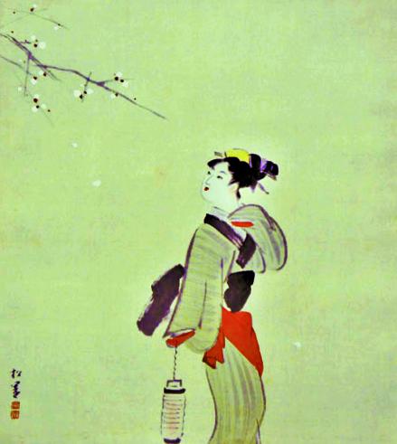 上村松園 春の宵(2)