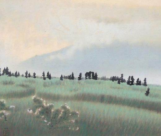 谷野圭一 『高原雨後』