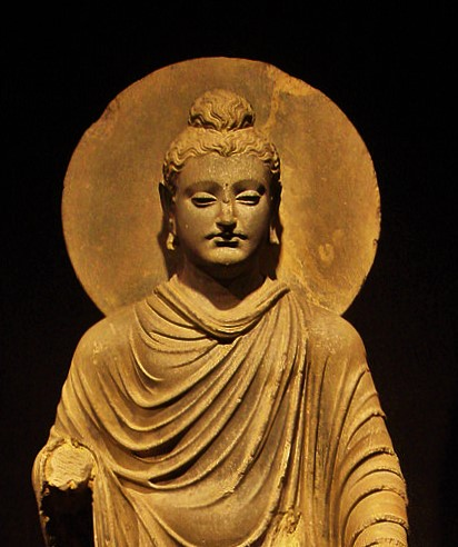 640px-Gandhara_Buddha_(tnm) (2)