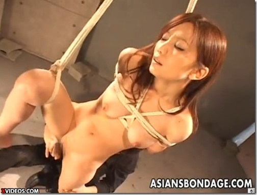 【SM緊縛エロ動画】エロい下着の綺麗なお姉さん、縛られ褒められオマンコ濡らす。05