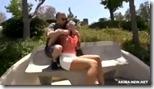 【外人のエッチ動画】外人爆乳人妻を拉致してレイプ!アナル中出し!04