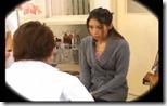 【夫婦生活妻の秘めごとエロ動画】婦人科の検診だからとバイブもチンポの挿入も許してしまう人妻01