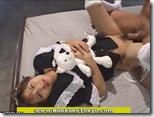 【メイドコスのエロ動画】ぬいぐるみ片手に『ザーメン下さい』とお願いするエロカワメイド02