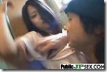【野外青姦エロ動画】公衆便所で巾着縛り。なのに、巨乳と脇に執着するおっぱい星人01