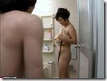 【夫婦生活妻の秘めごとエロ動画】巨乳熟女の逆ソープ。オチンポはシャワーの後で♪01