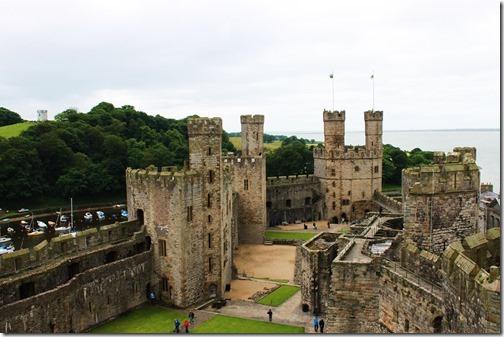 45【世界の快道でイク!西欧ウェールズ(Wales)編】『天空の城』から舞い降りたエロ美しき王女達カーナヴォン城(caernarfon)