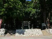 武田八幡宮 石鳥居