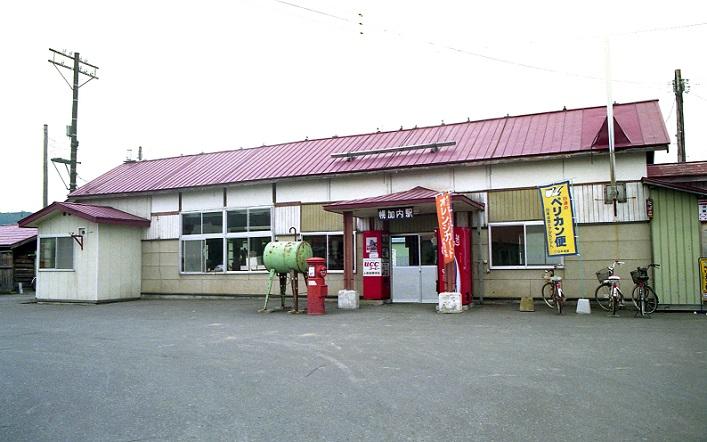 幌加内駅 1990.06 月
