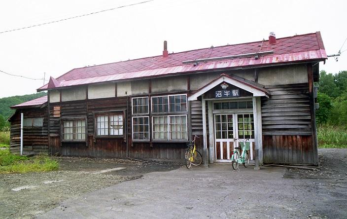 沼牛駅 1990.06 月
