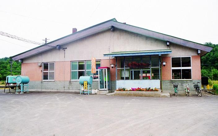朱鞠内駅 1990.06 月