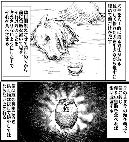 犬神の呪法