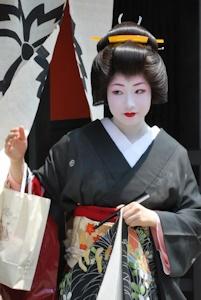祇園の芸妓さん(イメージ)