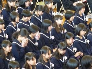 卒業式の涙その2