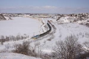 釧路湿原の冬
