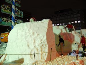 西11丁目 国際雪像コンクール