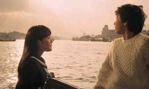 舟の上でのヒロキと百合子