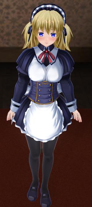 千鶴さん通常メイド姿
