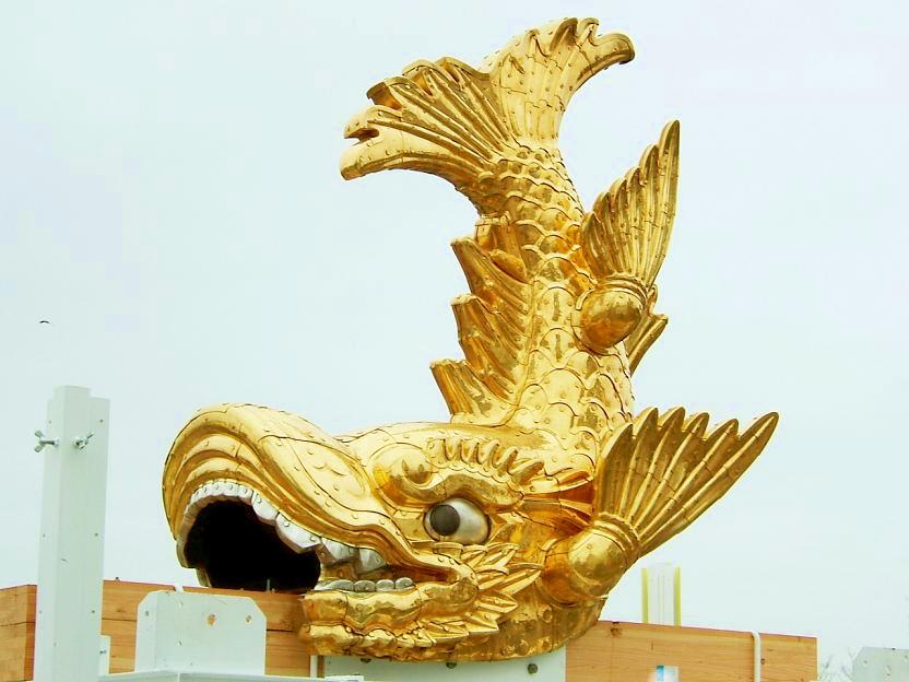 名古屋城の金鯱