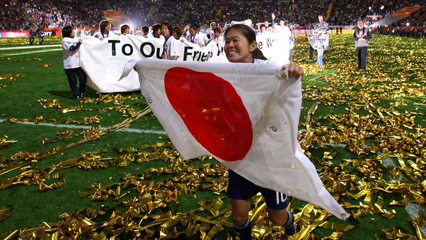 Homare Sawa became the first player to make an appearance in 6 Womens World Cups