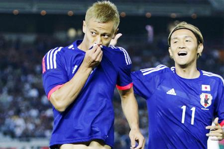 Japan romp to 4-0 friendly win over Iraq