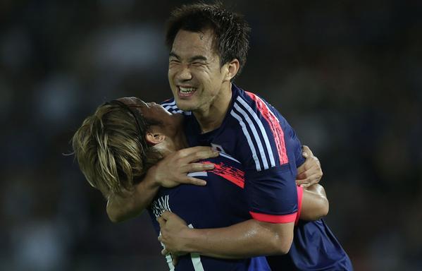 okazaki Japan 4-0 win Iraq
