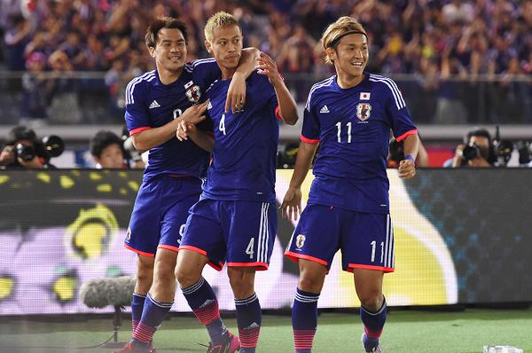 honda milan Japan 4-0 win Iraq