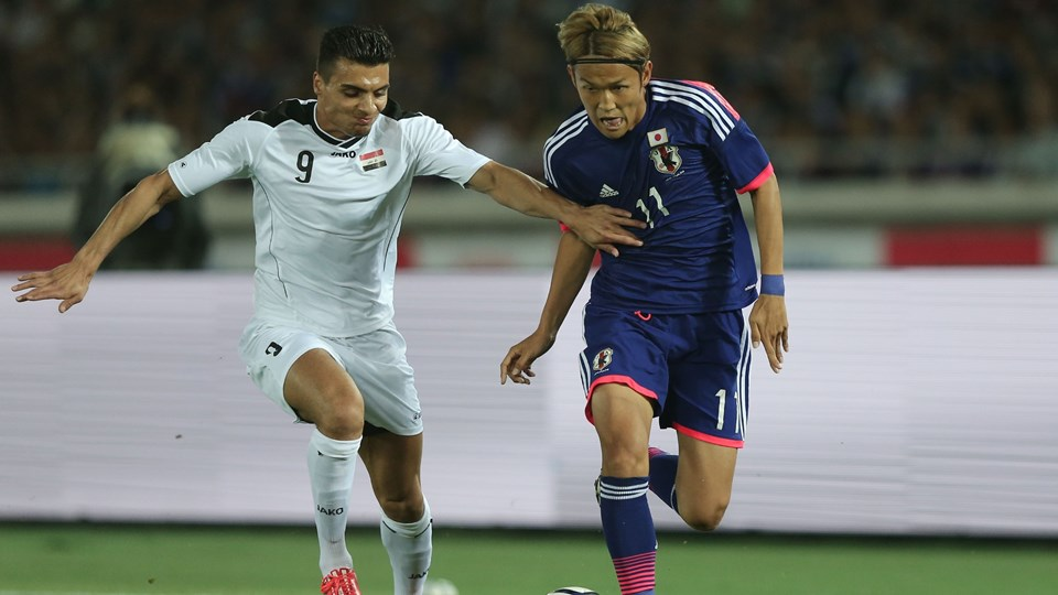 usami Japan 4-0 win Iraq