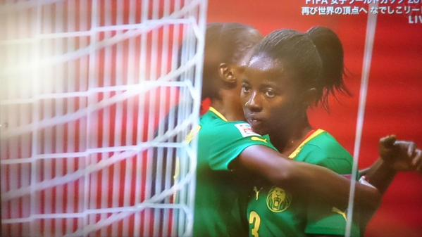 #JPN 2-1 #CMR gave it up