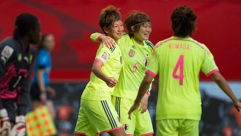 japan cameroon 2 1 WWC sugasawa