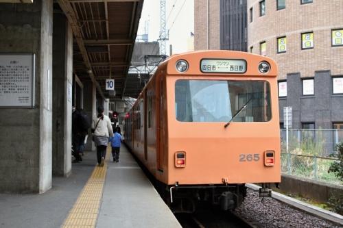 四日市駅ナローゲージ