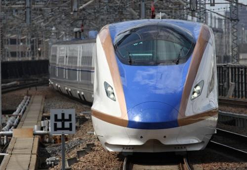 大宮駅で北陸新幹線