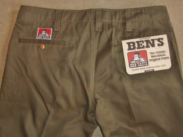 BENDAVIS NEW SLIM CHINO DKHAKI BK1