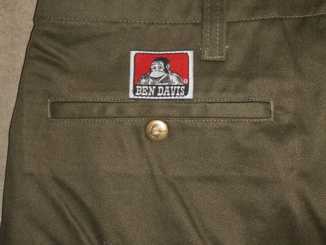 BENDAVIS NEW SLIM CHINO DKHAKI BK2