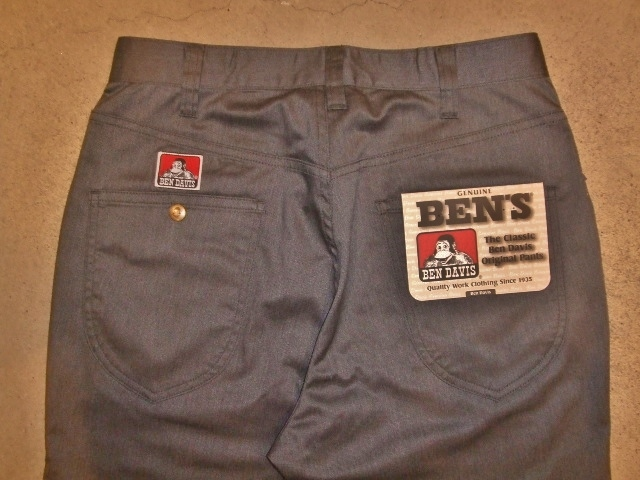 BENDAVIS STRETCH 5P PANTS GRAY BK1